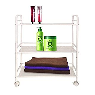 MultiWare Beauty Salon Trolley Therapy Dentist Hairdresser 3 Shelves Large Side