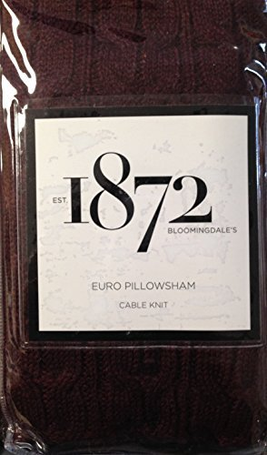 bloomingdales-1872-26x26-cable-knit-euro-pillowshamwine-by-unknown