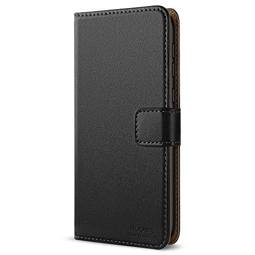 HOOMIL Coque Honor 6X, Housse en Cuir Premium Flip Case Portefeuille Etui Coque pour Huawei Honor 6X (H3029, Noir)