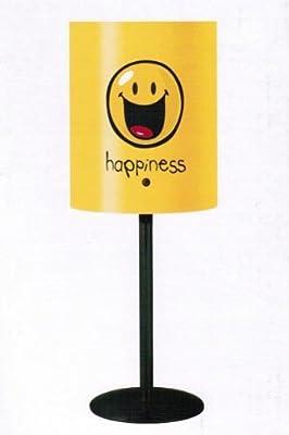 Tischlampe Smiley Happiness Gelb - Nachttischlampe von spielzeugparade