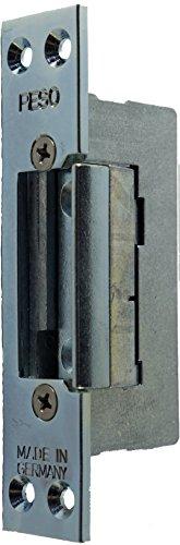 Elektrischer Türöffner PESO 300 6-12 Volt mit Schließblech 110x25