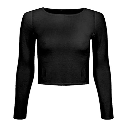 womens-crop-long-sleeve-t-shirt-ladies-short-plain-round-neck-top