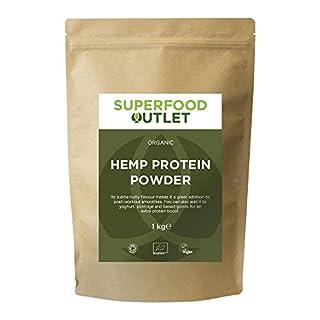 Organic Hemp Protein Powder | 1KG | Superfood Outlet