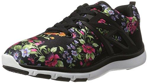 Bruetting Ambrosia Damen Freizeitschuhe Sneaker Schwarz (Schwarz/Pink)