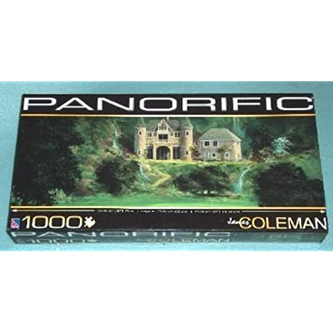 Panorific Jigsaw Puzzle by James Coleman / 1000 pieces, golf-themed by The Canadian Group