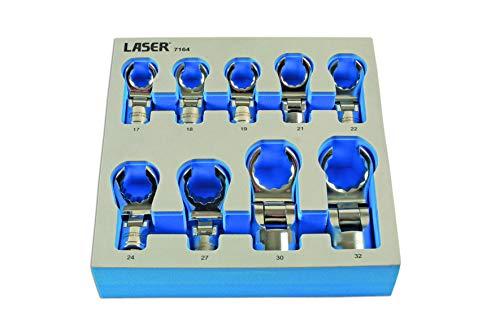 Laser Tools-flexible corbeaux Pied de clés 1/2 D 9pc-7164