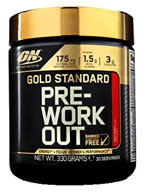 Optimum Nutrition Gold Standard Pre-workout 330g by Optimum Nutrition