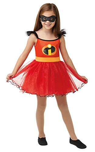 Rubie 's 640876l Tutu Kleid Disney Incredibles 2 Kinder Kostüm, Mädchen, - Familie Dress Up Kostüm