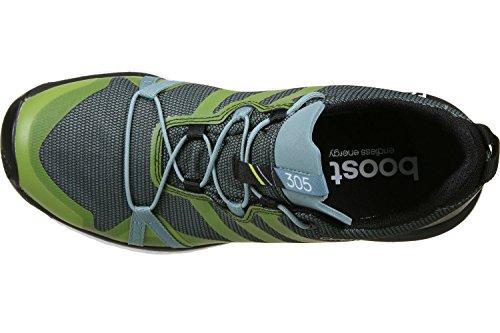adidas ® Terrex Agravic GTX Trailrunningschuhe vapour steel f16/shock slime f16/core black