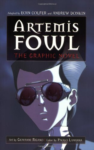 Portada del libro Artemis Fowl: The Graphic Novel by Eoin Colfer (2007-10-02)