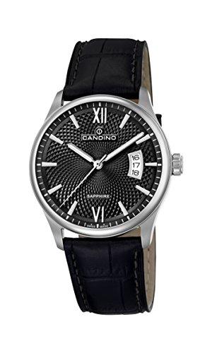 Candino Reloj Análogo clásico para Hombre de Cuarzo con Correa en Cuero C4691/3