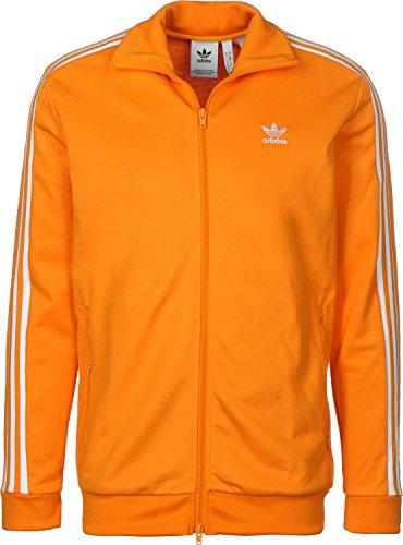 adidas Beckenbauer TT Jacke bright orange