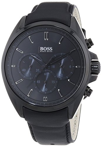 hugo-boss-herren-armbanduhr-xl-driver-chronograph-quarz-leder-1513061