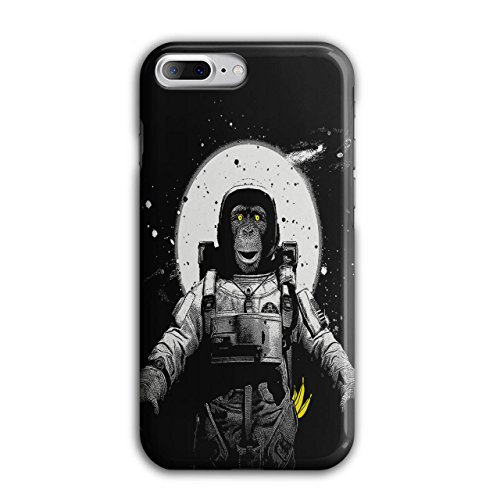 Platz Affe Mond Planet Affe iPhone 8 Plus Hülle | Wellcoda Schimpansen-anzug