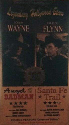 Preisvergleich Produktbild Angel and the Badman / Santa Fe Trail [VHS]