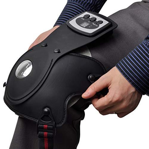 QETU Rodilla Articulación Instrumento de Fisioterapia Artritis Dolor Alivio Terapia Rehabilitación electrotérmica Rodilleras Masajeador,doubleknee