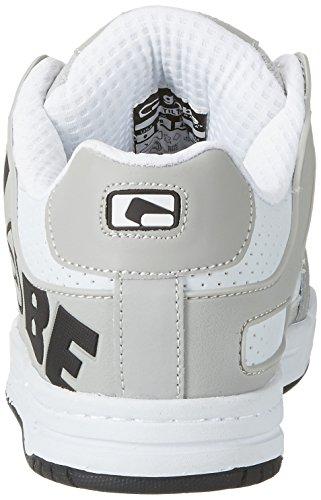 Globe Herren Tilt Sneaker Weiß (White/grey/black)