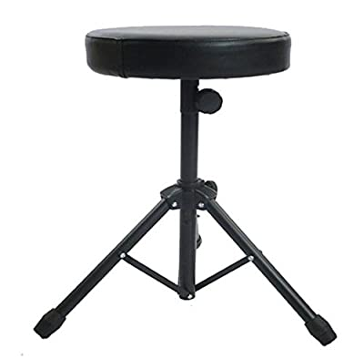 Kabalo Folding Foldable Music Guitar Keyboard Drum Stool/Throne Piano Chair DOUBLE PADDED Seat - inexpensive UK light store.