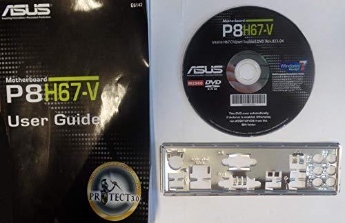 ASUS P8H67-V Handbuch - Blende - Treiber CD