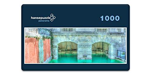 hansepuzzle 33194 Panorama-Puzzle: Vizcaya, 1000 Teile in hochwertiger Kartonbox, Puzzle-Teile in wiederverschliessbarem Beutel