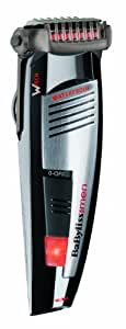 BaByliss E845E - beard trimmers (Black, Silver)