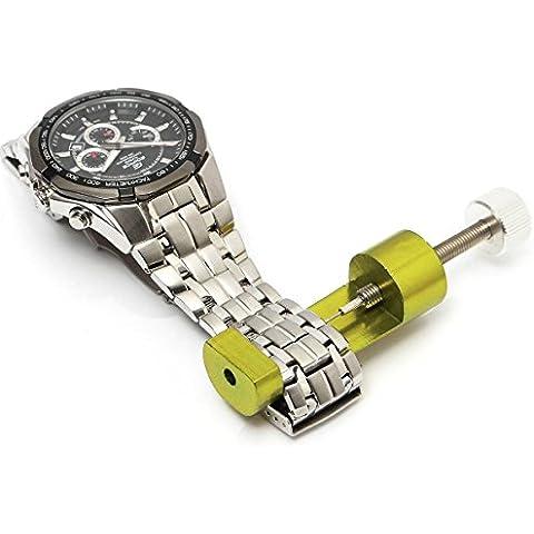 BABAN Regolabile Orologio Cinturino Braccialetto Link Pin Remover Strumento di Riparazione - Metallo Link Guarda