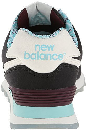 New Balance Classics Traditionnels Navy Mens Trainers Noir/bleu