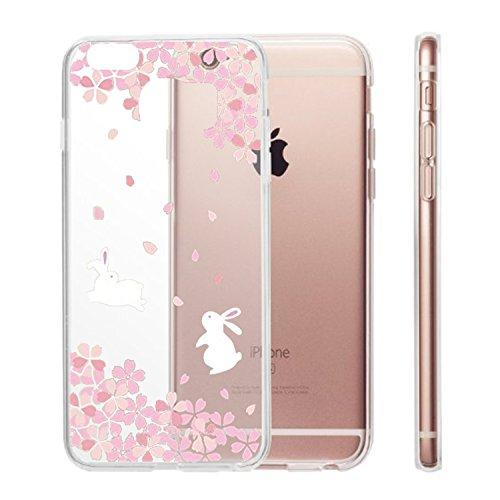 Qissy®TPU Cover iPhone 6 plus /6s plus Case Anti-scratch Gel Silicone Custodia Bella Cherry Plum 8