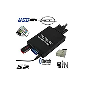 Adaptateur Interface Autoradio iPod Aux Bluetooth Opel Agila - CPA-M05 - Prise iPod/iPhone Auxiliaire (0,00 €), sans option bluetooth 0€