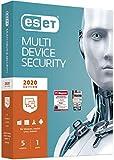 ESET Multi-Device Security 2020 | 5 Geräte | 1 Jahr Virenschutz | Windows (10, 8, 7 und Vista), macOS, Linux und Android | Standardverpackung