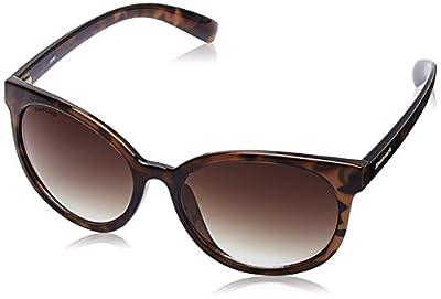 Fastrack Gradient Goggle Women's Sunglasses - (P381BR1F|60|Brown Color)