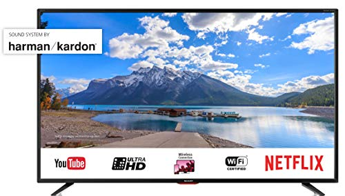 "Sharp Aquos LC-55UI7552E  Smart TV 55"" UHD 4K HDR, audio Harman Kardon"