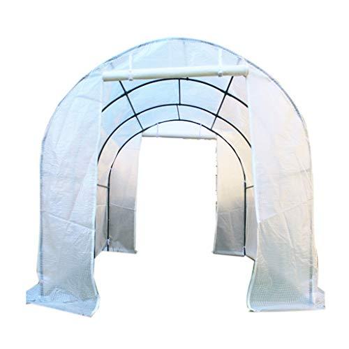 Invernadero de polietileno blanco