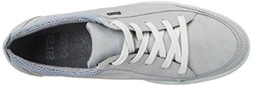 ara Damen Sanibel-Surround Sneakers, Grau (Cloud,Silber), 39 EU - 7