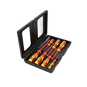 41XfvD4vA%2BL. SS300  - Hilka 34489008 - Electricistas De Destornilladores (8 Piezas)