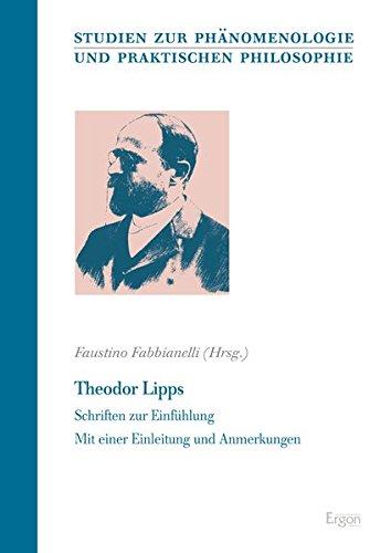 Theodor Lipps: Schriften zur Einfühlung