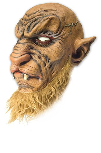 Vollmaske Halloween Horror Maske Monster Tier Vampir Herren Tiermaske Halloweenmaske ()