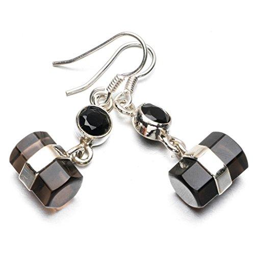 stargems-tm-naturel-quartz-fume-et-onyx-noir-argent-sterling-925-boucles-doreilles-1-1-51-cm