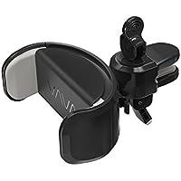 VAVA Support Téléphone Voiture, Support de Téléphone avec Tampon en Silicone (Design Breveté, Crochet à Câbles, Rotule à 360° – Convient aux Smartphones de 5 à 8.2 cm)