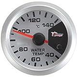 """Compteur de temperature d¡¯eau - SODIAL(R)7 couleur moteur Maj 2"""" 52mm LED thermometre temperature Temp metre de colonne d¡¯eau"""