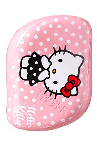 Interlace Teezer Compact Styler Haarbürste, Hello Kitty Pink, 1er Pack (1 x 1 Stück)