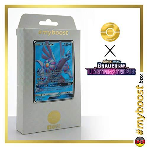Palkia-GX 119/131 Full Art - #myboost X Sonne & Mond 6 Grauen Der Lichtfinsternis - Box de 10 Cartas Pokémon Aleman
