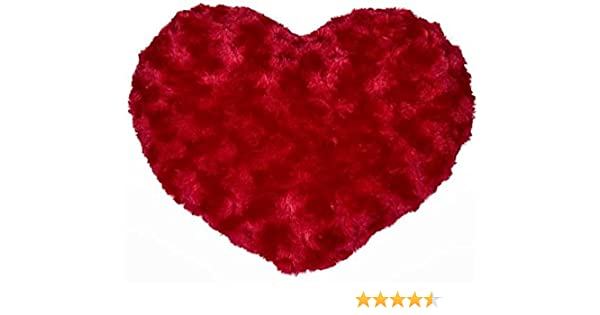 Red Heart Cushion Cover Offer Price £8.99