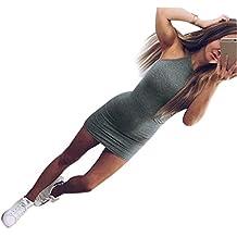 Graues enges kleid