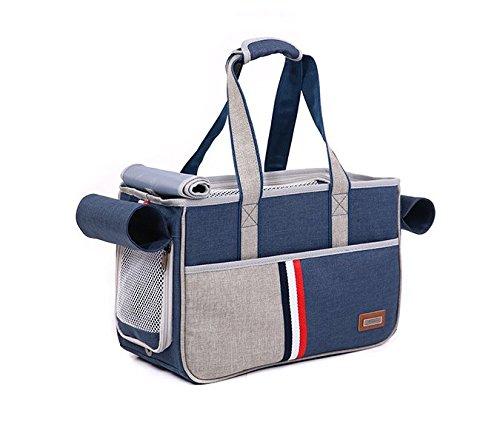 BENWEI Classics Pet Carrier,Portable Dog Cat Handbag Outdoor Soft Sided Pet Shoulder Bag Foldable Travel Tote,Under Seat… 9