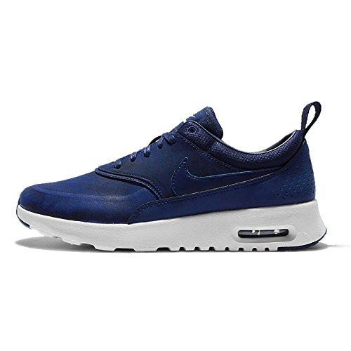 separation shoes 6a4b6 012b5 Baskets Nike Air Max Thea Prm De Nike, Femmes Marine Bleu-blanc