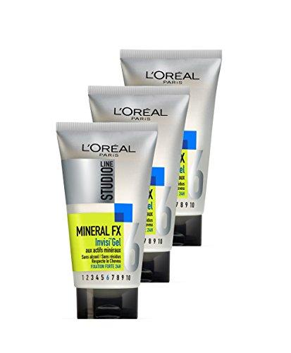 4ac43ef910b L'Oréal Paris, Studio Line. 3 piezas, gel modelador para el cabello