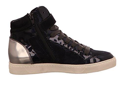 Paul Green 4398-028, Sneaker Donna Blau