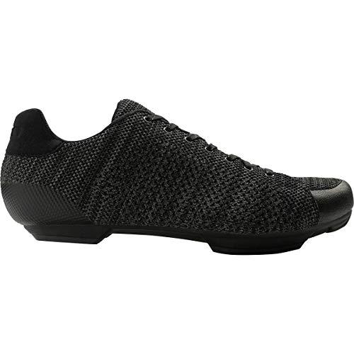 Giro Republic R Knit HV - Zapatillas de Ciclismo para Hombre, 45, Negro/carbón Jaspeado