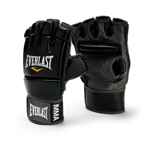 Everlast MMA Kickboxing Gloves (Black)